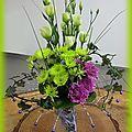 Epeire au jardin - art floral