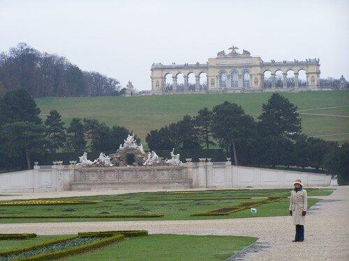 Vienne-Schonbrunn et gloriette
