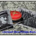 Lieutenant marie philippe marey (1873-1914).