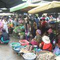 Un des nombreux marchés visités