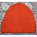 Ensemble Bonnet & Echarpe Orange
