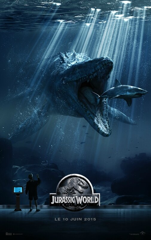 Jurassic World movie poster 02