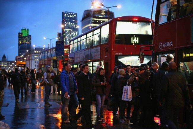 tube strike london fev 2014 56