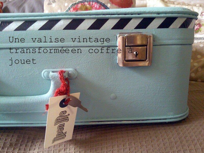aujourdhui une vieille valise des ann es la passion de lilo. Black Bedroom Furniture Sets. Home Design Ideas