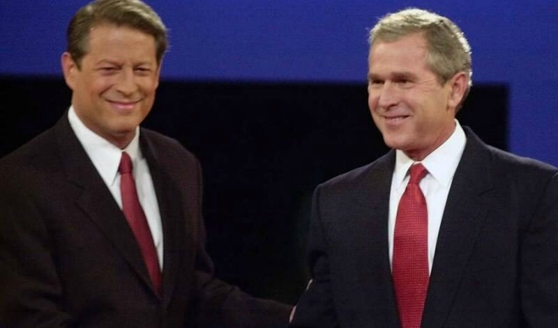 Al Gore and George W