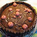 gâteau bain de boue
