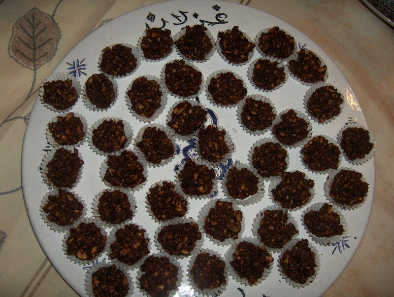 Les Rochers De Chocolat Les D Lices De La Cuisine