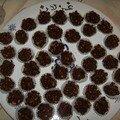 Les rochers de chocolat