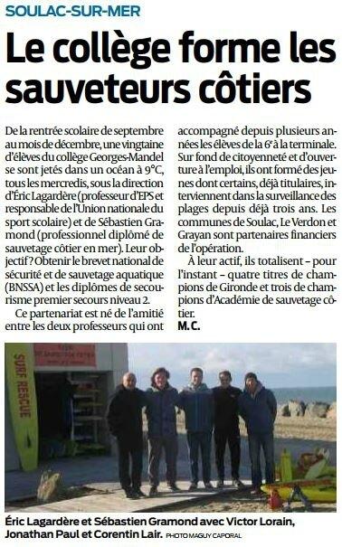 2017 12 21 SO Soulac-sur-mer sauveteurs