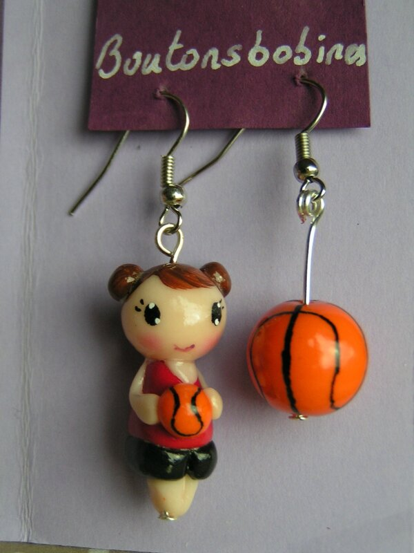 boucles basketteuse