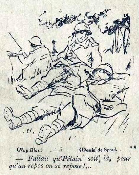 Pétain repos