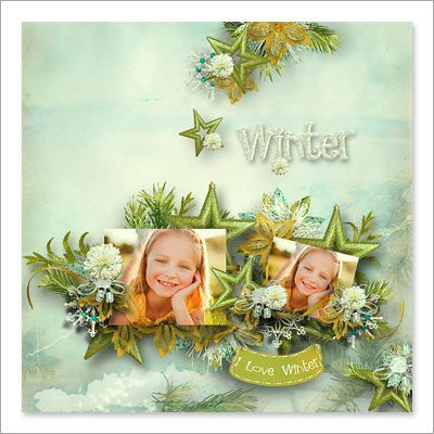 charming winter pages ct11