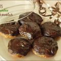 Biscuits au beurre d'amandes et au chocolat, sans gluten et sans lactose