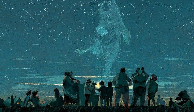 on va regarder les étoiles