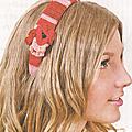 Les accessoires au crochet #7 : serre-tête