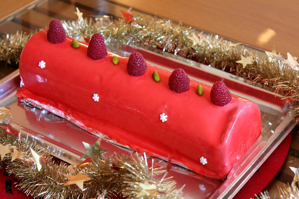 Recette gateau de noel avec glacage home baking for you blog photo - Recette decoration gateau chocolat ...