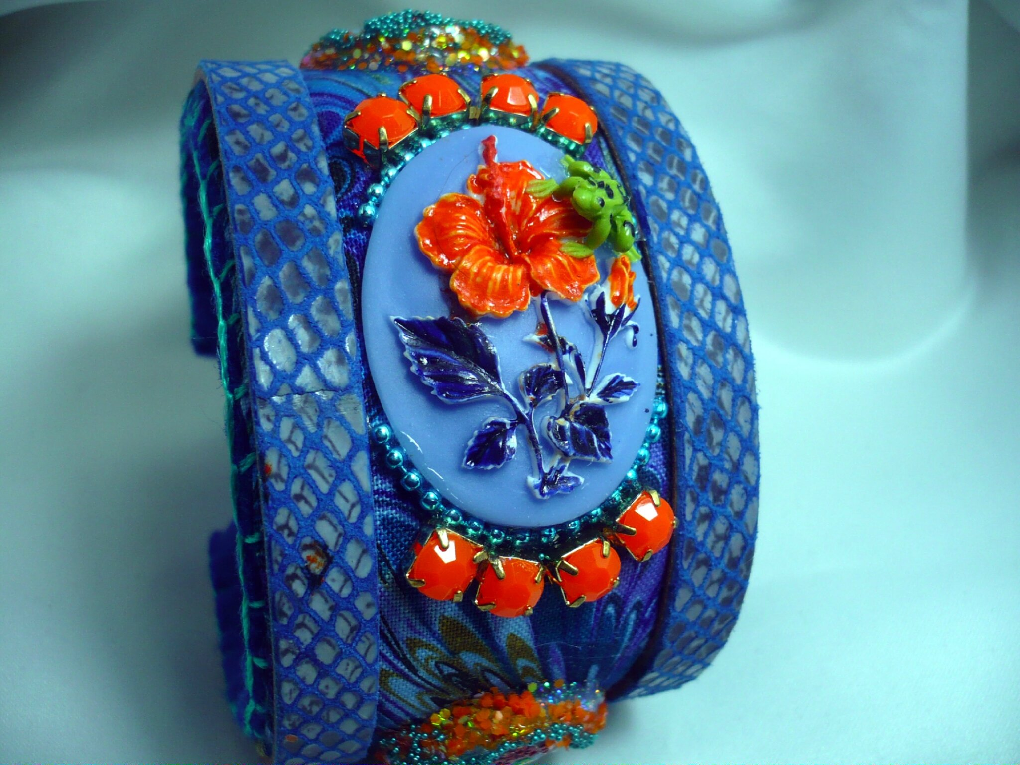 Bracelet manchette ° légende de Loire° Bracelet