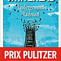 Colson whitehead, underground railroad, albin michel, 398 pages, 2017.