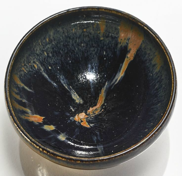 A 'Cizhou'-type russet-splashed black-glazed bowl, Jin dynasty
