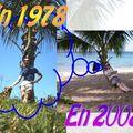 Doudou en 1978 et 2008