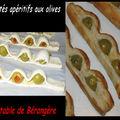 Feuilletés apéritif aux olives