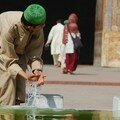 Ablutions a la mosquee