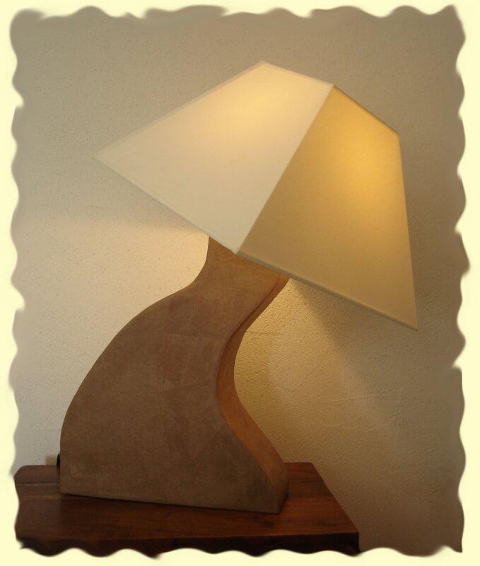 lampe cartonnage on