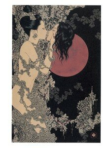 Artbook Takato Yamamoto Divertimento ukiyoe ukiyo-e sm manga 002