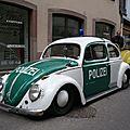 VOLKSWAGEN Coccinelle ovale Polizei Molsheim (1)