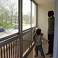 Transformation du balcon
