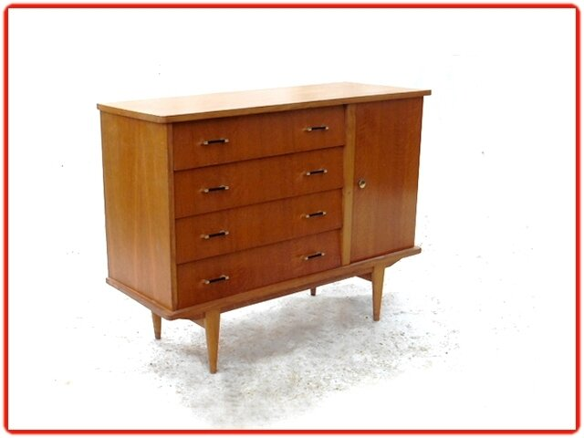 COMMODE VINTAGE ANNEES 1950