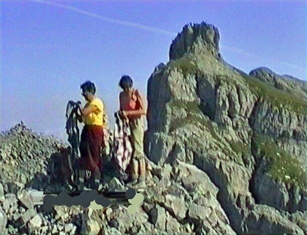 Aiguille de Varan 2544 m du plateau d'Assy - Haute Savoie