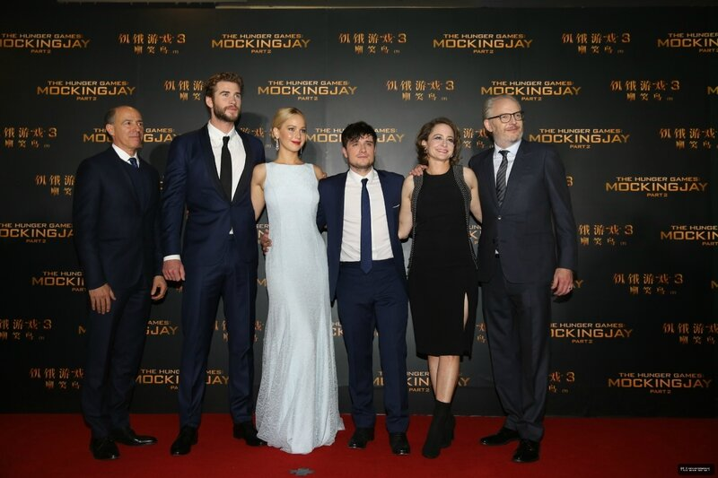 Hunger Games Mockingjay Part 2 Beijing Premiere 10