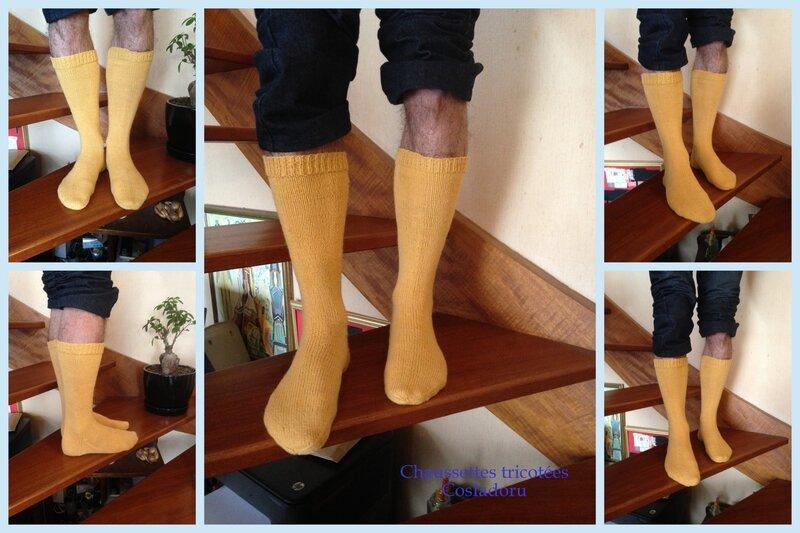 Chaussettes tricotées5