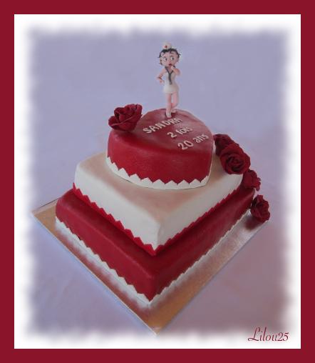 gateau pour anniversaire de mon mari