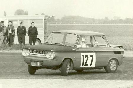 1968 - Circuit de Dijon (Base Aérienne de Longvic) (NSU TTS N° 127 - 500 KR 01) Yves Evrard 02