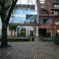 Une des nombreuses galeries marchandes (Fribourg)
