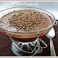 Créme de semoule au chocolat