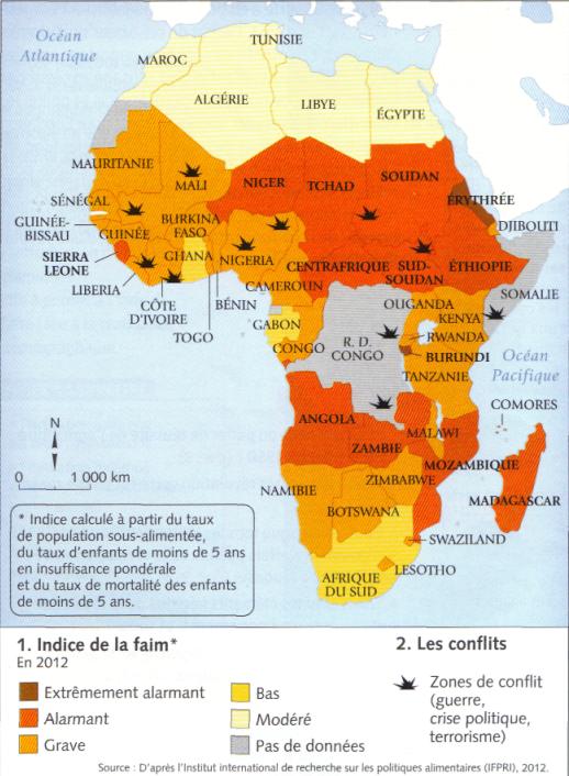 Situation alimentaire et géopolitique de l'Afrique subsaharienne