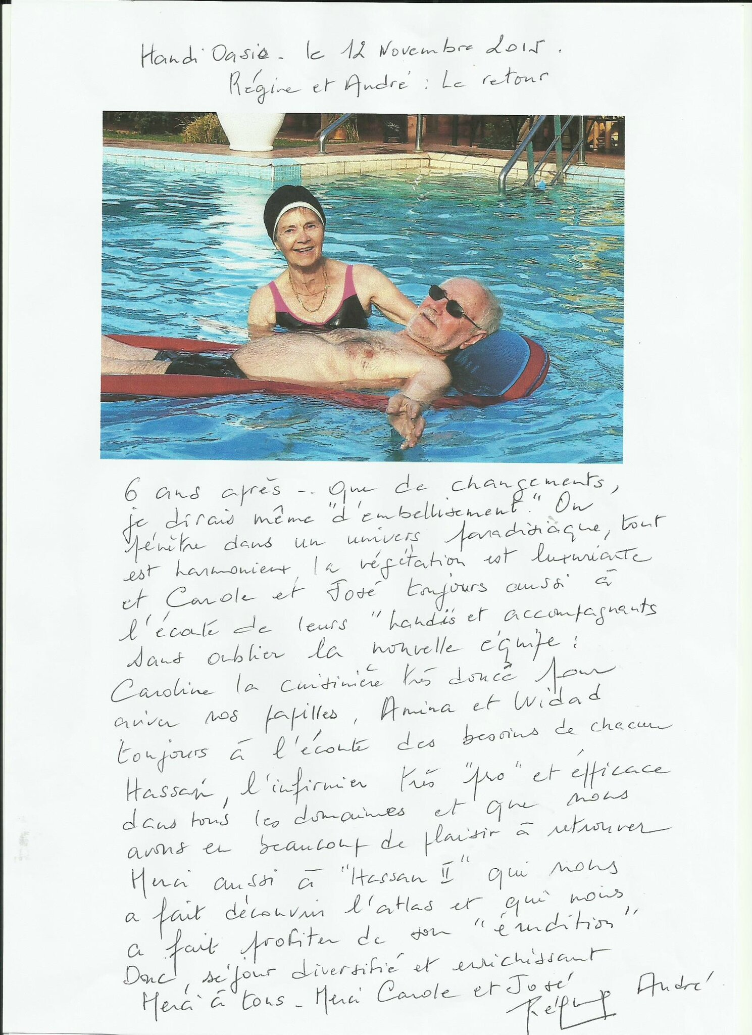 piscine adaptée handicap
