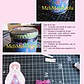 Caja metal con matriochka / boite métallique matriochka