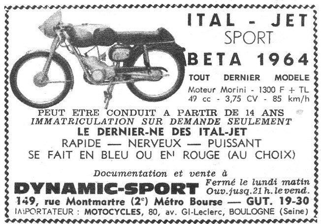 ItalJetBeta1964