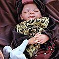 bébé reborn ethnique indien 033