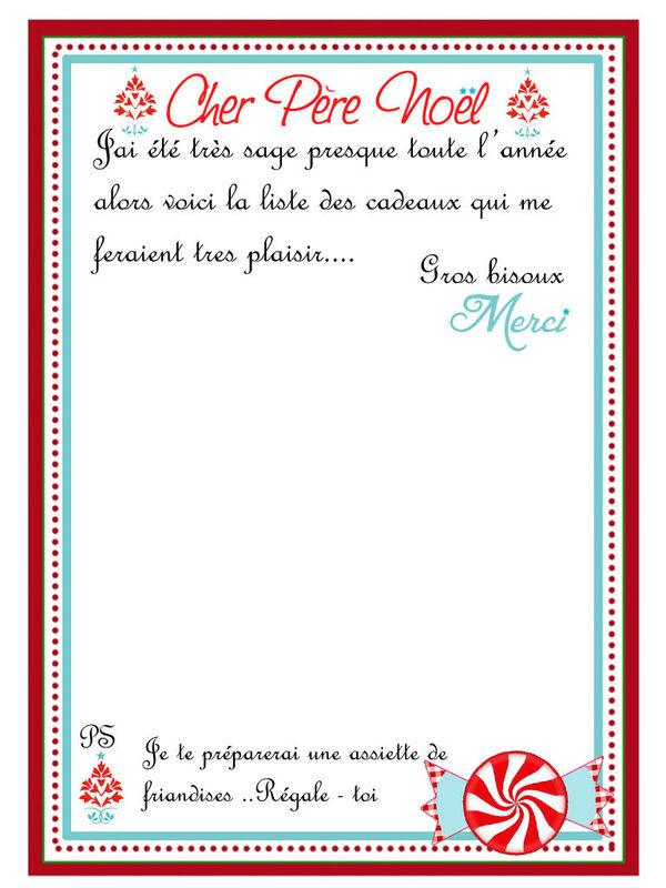 Theme joyeux gouter de noel 1 et 2 et 3 doudous patrons patterns gabarits fete a themes - Liste pere noel imprimer ...