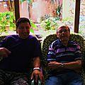 Avec Abdelkader Kinini, traducteur