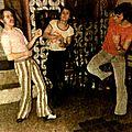 Michel, Rotkrut et moi dansant