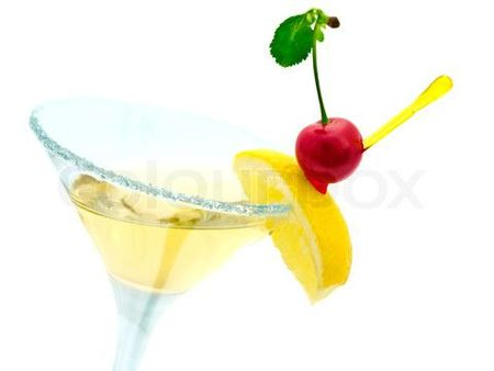1749734-489293-cocktail-with-lemon-and-cherry-over-white