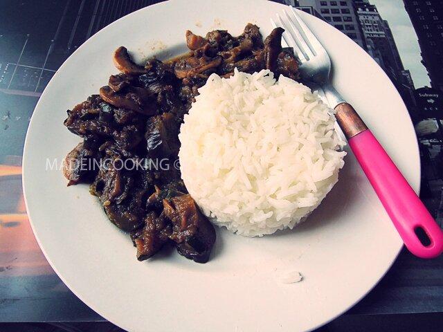 K-lie's vegetable rice