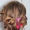 idée de coiffure avec headband