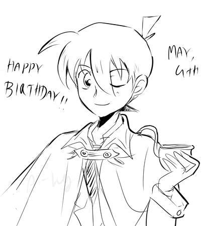 Shinichi birthday